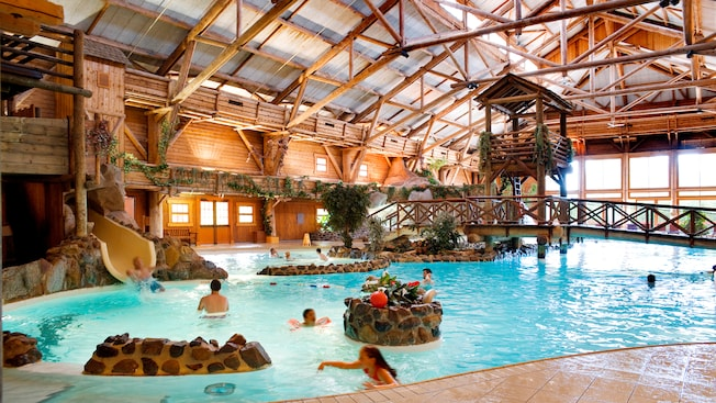 Piscina al Disney\'s Davy Crockett Ranch | Disneyland Paris