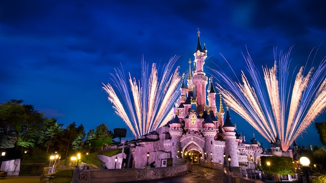 sleeping beauty castle attraktionen disneyland paris