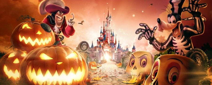 disneyland halloween 2018 paris