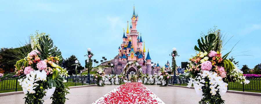 Matrimonio Tema Parigi : Disneyland paris